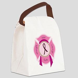 Awareness Ribbon Canvas Lunch Bag