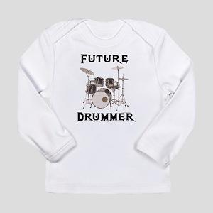 future-drummer Long Sleeve T-Shirt
