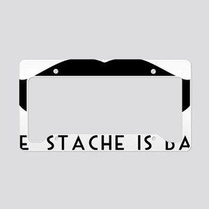 'Stache Is Back License Plate Holder