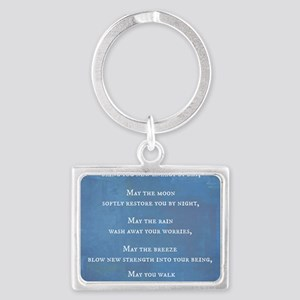 Apache Blessing Landscape Keychain