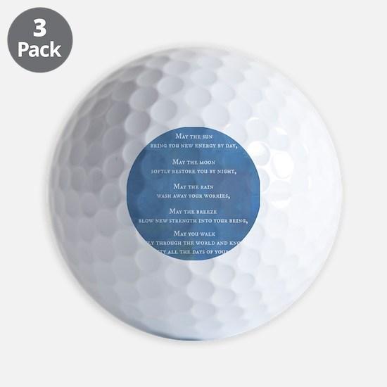 Apache Blessing Golf Ball