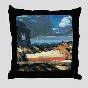 George Bellows The Big Dory Throw Pillow