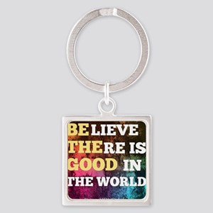 Be The Good Square Keychain