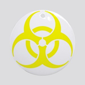 Staph Round Ornament