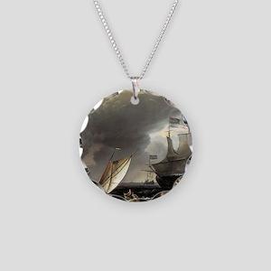 Ludolf Bakhuizen Dutch Vesse Necklace Circle Charm