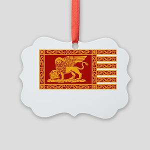 venetian flag Picture Ornament