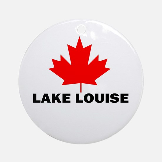 Lake Louise, Alberta Ornament (Round)