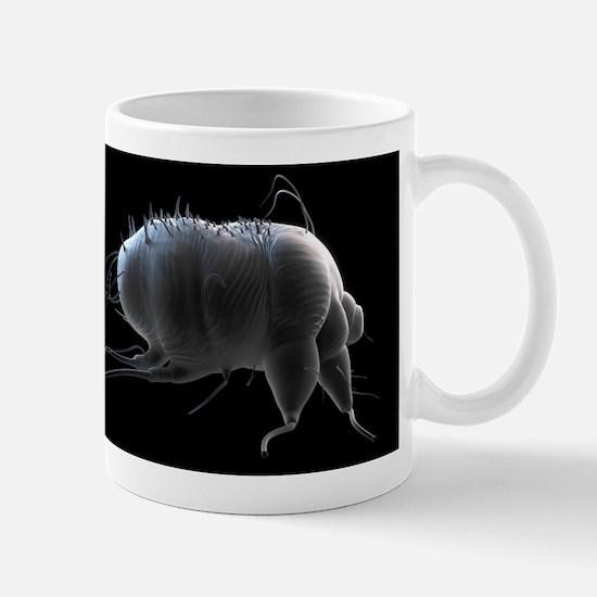 Scabies mite, artwork Mug