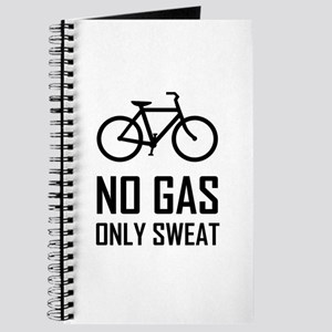 No Gas Bike Only Sweat Journal