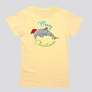Merry Christmas Girl's Tee