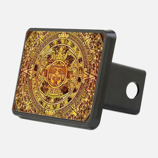 Aztec Calendar Hitch Cover