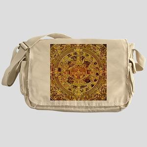 Aztec Calendar Messenger Bag
