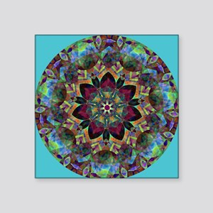 "Harmony Square Sticker 3"" x 3"""