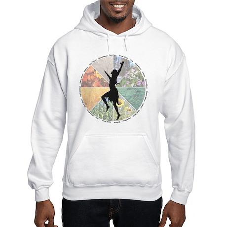 Dancing the Wheel of the Year Hooded Sweatshirt