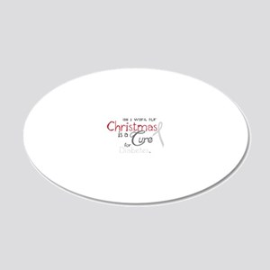 Cure For Diabetes 20x12 Oval Wall Decal