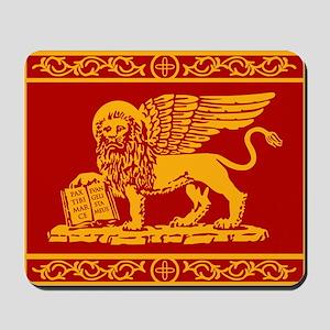 venice flag rug Mousepad