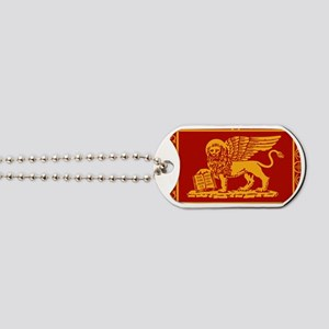 venice flag rug Dog Tags