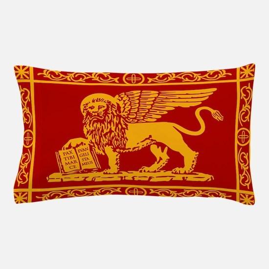 venice flag rug Pillow Case