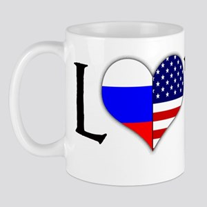 Russian American Loved Mug