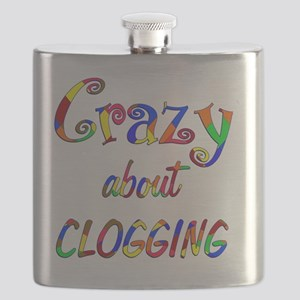 Crazy About Clogging Flask