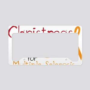 Cure Multiple Sclerosis License Plate Holder