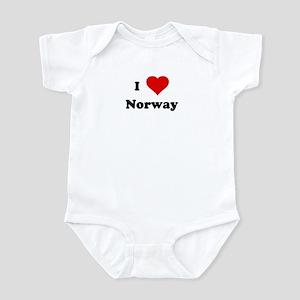 I Love Norway Infant Bodysuit