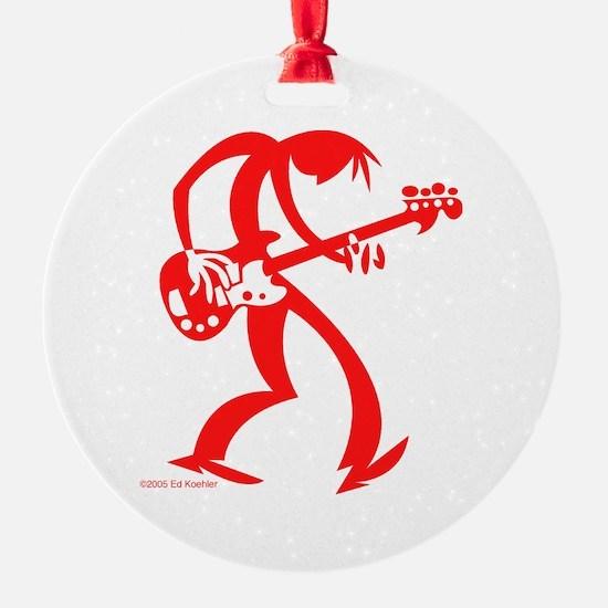 Bassman Ornament