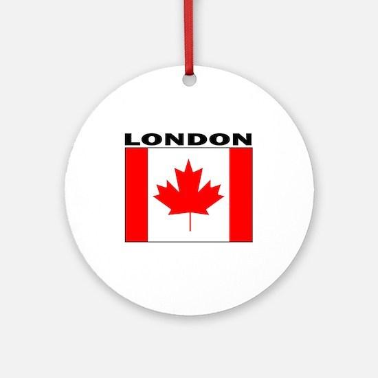 London, Ontario Ornament (Round)