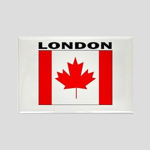 London, Ontario Rectangle Magnet