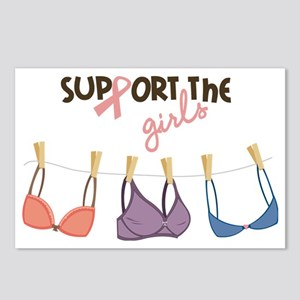 Support The Girls Postcards (Package of 8)