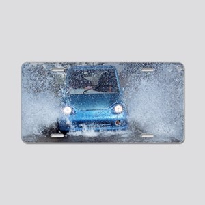 Electric car Aluminum License Plate