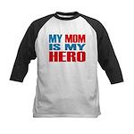 Hero Mom Kids Baseball Jersey