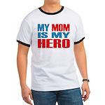 Hero Mom Ringer T