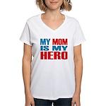 Hero Mom Women's V-Neck T-Shirt