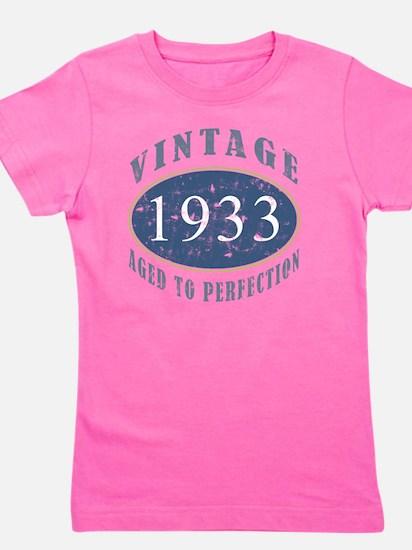1933 Vintage (Blue) Girl's Tee