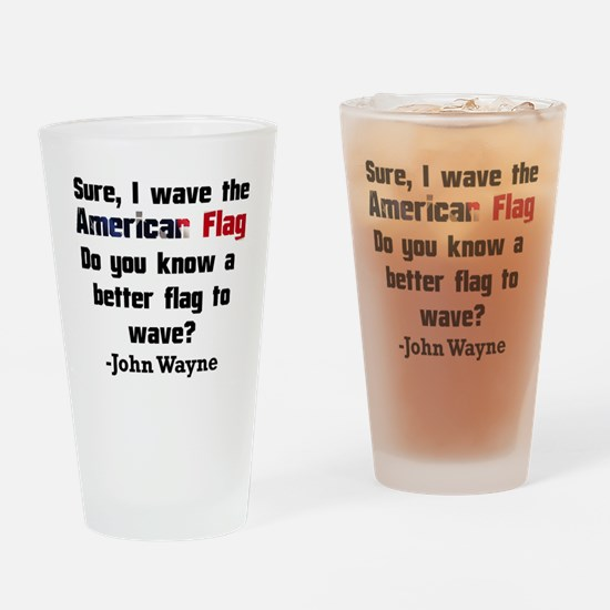 The Patriot Drinking Glass