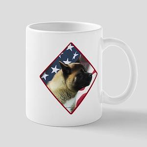 Akita Flag 2 Mug