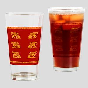 venetian flag Drinking Glass