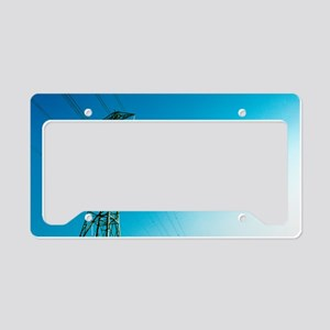 Electricity pylon License Plate Holder
