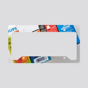 Energy efficiency rating labe License Plate Holder