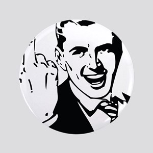 """The Middle Finger 3.5"""" Button"""