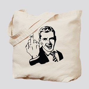 The Middle Finger Tote Bag