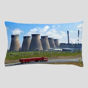 Ferrybridge power station Pillow Case