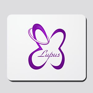 Lupus Butterfly Loop Mousepad
