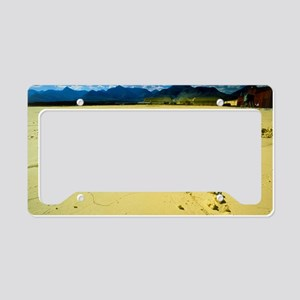 Extracted sulphur License Plate Holder