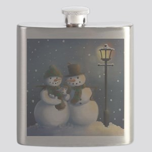 Snow Family Flask