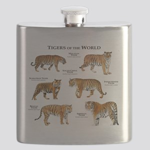 Tigers of the World Flask