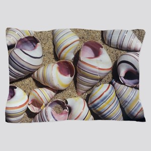 Freshwater snail shells Pillow Case