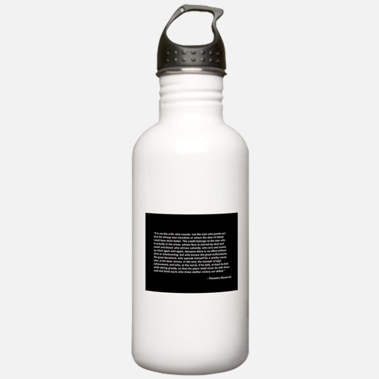 roosevelt_print.jpg Water Bottle