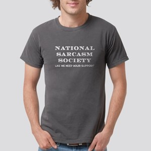 National Sarcasm Mens Comfort Colors Shirt